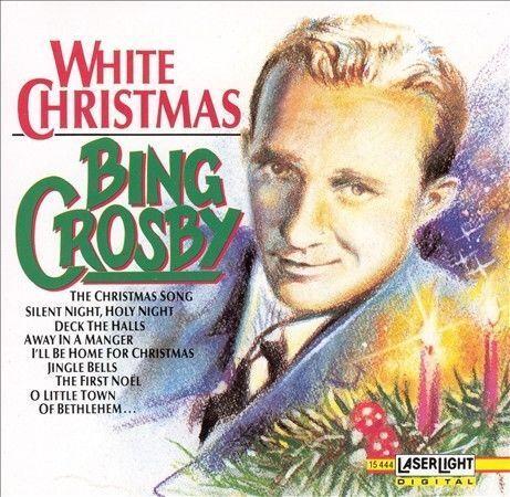 White Christmas CD Bing Crosby Classic Holiday Audio Xmas Hipster Retro 50s 60s