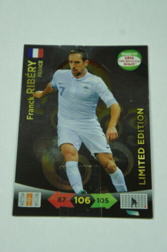 Panini adrenalyn choisir de Limited Edition card road to 2014 fifa world cup