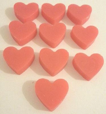 Cosciente Cuore Saponi Valentine Regalo All'ingrosso Nozze Favori Craft 10 20 30 40 50 100-