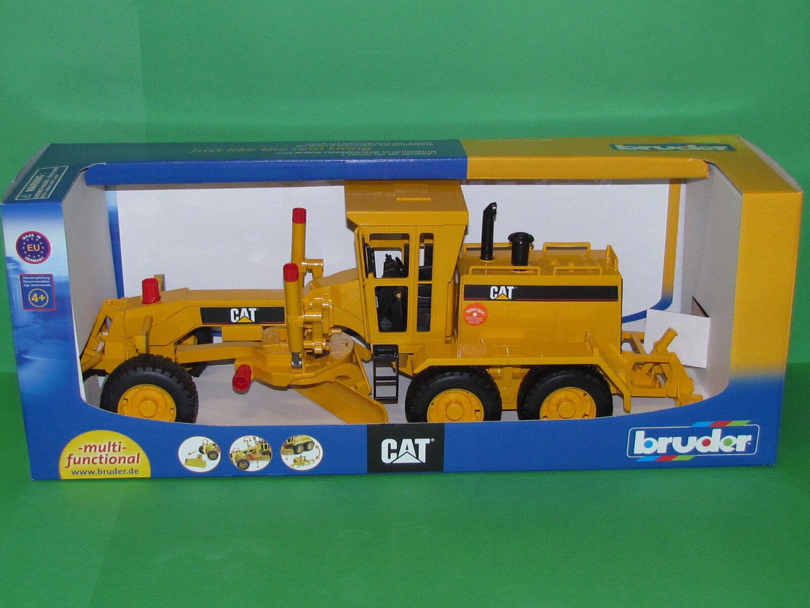 Bruder 02436 Cat® Grader Blitzversand per DHL-Paket  | Fairer Preis