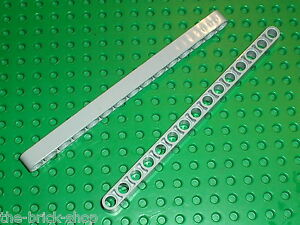 LEGO Technic 2 MdStone Beam 15 ref 32278 / sets 8258 8421 8295 10178 8053 6211..