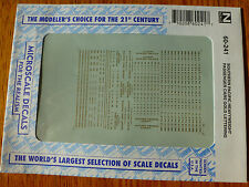 Microscale Decal N  #60-241 Southern Pacific Heavyweight Passenger Cars (1920-19