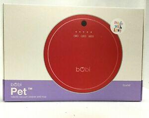 Bobsweep bObi 2.0 Pet Hair Robotic Vacuum Cleaner in Scarlet