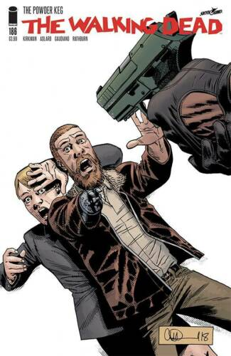 THE WALKING DEAD #186 STANDARD COVER A STOCK IMAGE