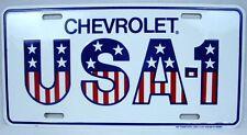 CHEVROLET LICENSE PLATE CAR TRUCK TAG METAL CHEVY USA-1 SILVERADO COLORADO VOLT