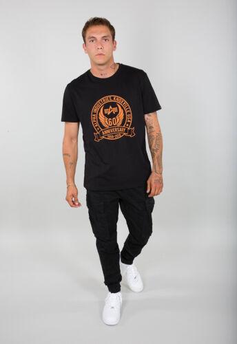 Alpha Industries T-Shirt Hommes Anniversary