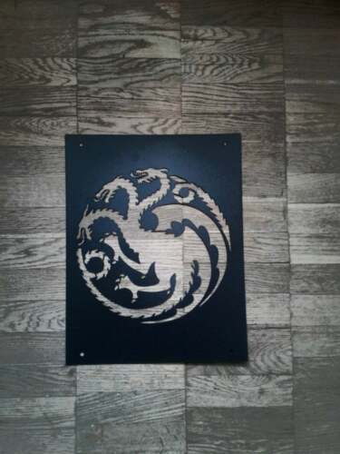 Game of thrones Targaryen Dragon Stencil Reusable Airbrush Stencils for painting