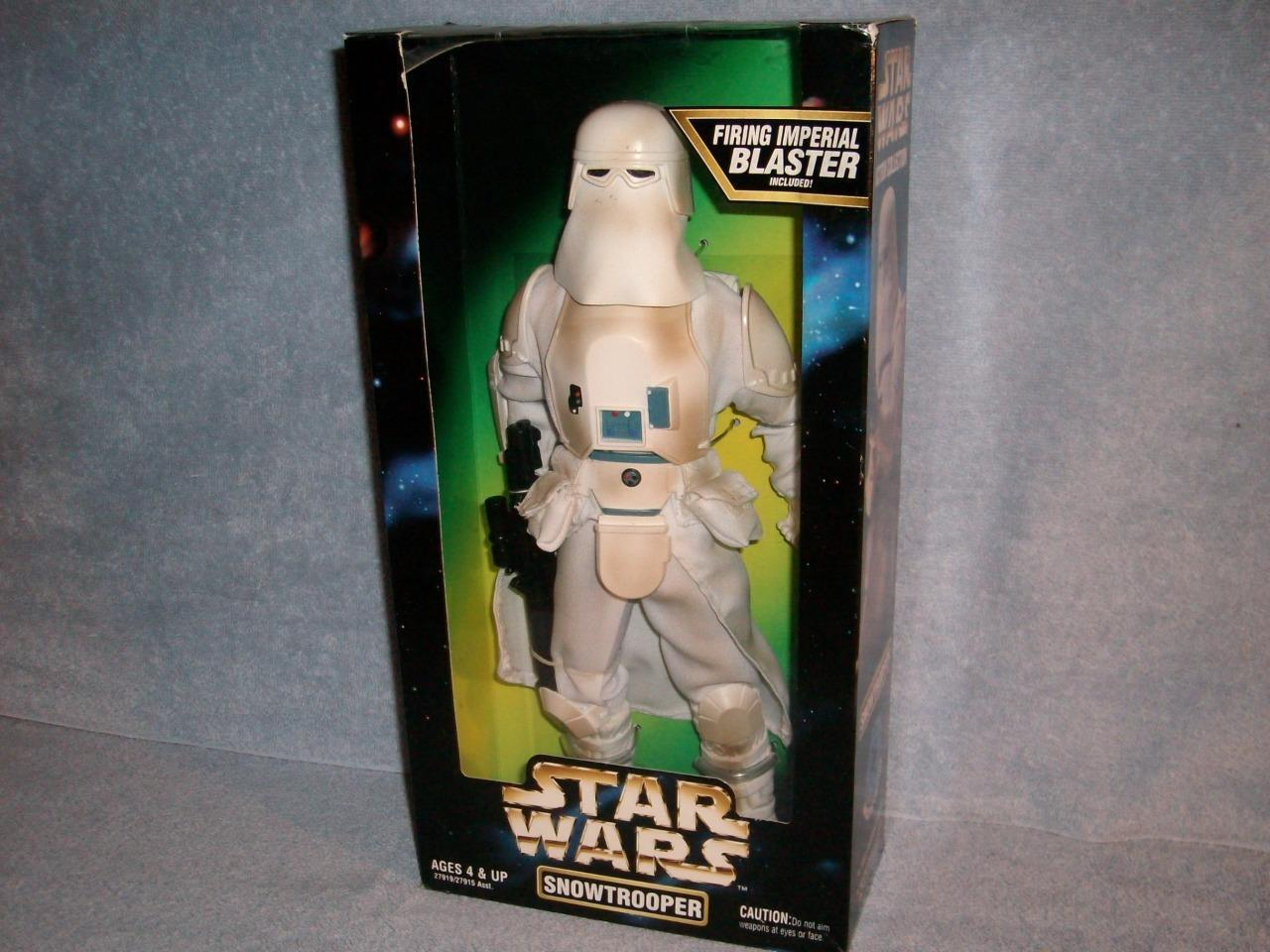Snowtrooper Variante Azul disparo Imperial Blaster Estrella Wars Empire Strikes Back
