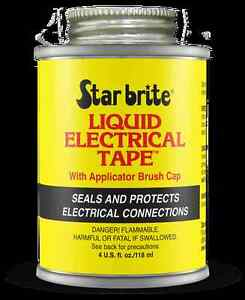 Starbrite-Liquid-Electrical-Tape-4oz-118g-Tin-Red-Waterproof-Sealant