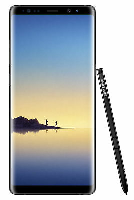 Samsung Galaxy Note8 SM-N950 - 64GB - Midnight Black (Unlocked) Smartphone