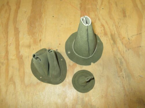 Fits willys jeep MB GPW Ford 3 piece leather cover boot set kit MOP066
