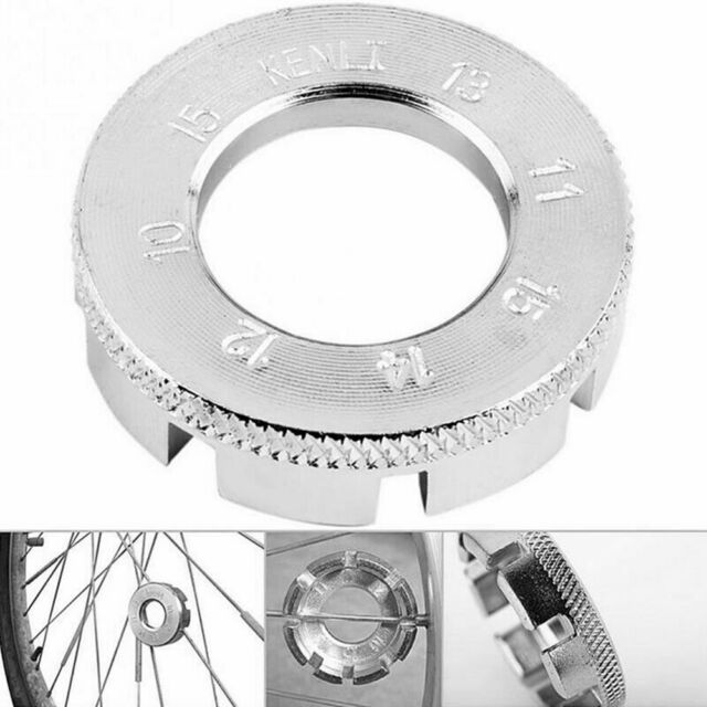 8 Way Bike Spoke 10-15 Wheel Rim Key Tool Cycle Bicycle Nipple Spanner Wrench