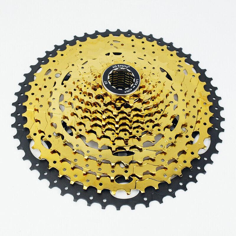 Muy Buena Bicicleta MTB 12 velocidades  Deportes Cassette 12S 11-52T Dorado Rueda Libre Piñón Engranaje  muchas concesiones