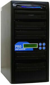 ProDuplicator 4 Burner CD/DVD Duplicator Disc Copier Writer Tower
