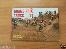 GRAND PRIX MOTOCROSS 1971,GP SEASON RACES 250 CC,500 CC DUTCH BOOK,GP MACHINES