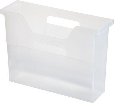 6 Pack Clear Small IRIS Desktop File Box