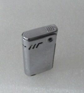 Mechero-gasolina-vintage-0210-encendedor-plateado-funcional