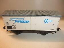 K3/13 Modelleisenbahn Spur H0 Kühlwagen INTER FRIGO Güterwagen für Güterzug Piko