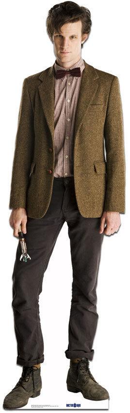 11th Dr Who Matt Smith lebensechte Größe Pappfigur