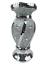 miniature 30 - Flower Vase Flower Pot Crushed Diamond Mirror Effect Home Decor Ceramic Vase New