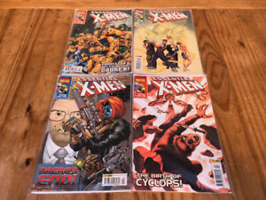 Marvel-X-Men-Collector-039-s-Edition-Comic-Books-Issue-101-102-103-104
