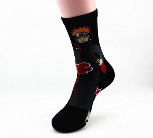 Janpanese Anime Naruto Socks Unisex Cosplay Long Sock Art Sock Akatsuki Madara