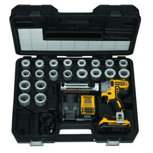 DEWALT-20V-MAX-XR-Li-Ion-BL-Cable-Stripper-Kit-DCE151TD1-New