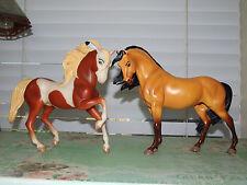 Dreamworks Spirit Stallion of the Cimarron and Rain set - Breyer