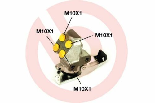 Bremskraftregler BREMBO R85006 BREMSREGLER HYDRAULISCH Seat VW //