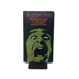 Nine Strange Stories Vintage Horror Book 1974 Paperback Scary Thriller