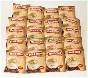 Super Maccoffee Original 3 In 1 Instant Coffee Mix 160 Sticks X 20g Food Empire Finely Processed Home & Garden Other Coffee