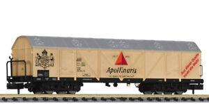 Liliput-ref-265657-Vagon-frigorifico-TThs-4-ejes-034-Apollinaris-034-de-DB-ep-IV