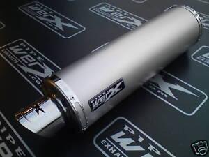 Das Bild Wird Geladen Kawasaki ZXR 400 H ZXR400 Titan Runder Auspuff
