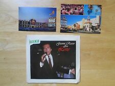 VEGAS GIANNI RUSSO RECORD RANCHO SILVER SLIPPER PHOTO POSTCARD GODFATHER ACTOR