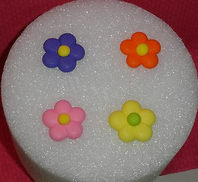 Kitchen, Dining & Bar Strict Flowers,royal Icing,edible Cupcake Topper,decopac,multi-color,flower Power Other Baking Accessories