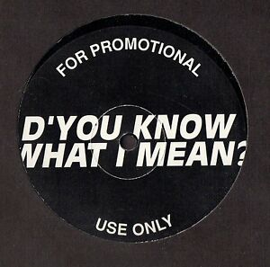 Oasis-D-039-You-Know-What-I-Mean-NEW-MINT-RARE-UK-promo-12-inch-vinyl-single