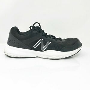 New-Balance-Mens-517-V2-MX517LK2-Black-Running-Shoes-Lace-Up-Low-Top-Size-10-D