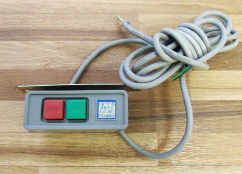 Schalter  für Nähmaschinen MOTOR mit Kabel 220V 250V 5A Neu