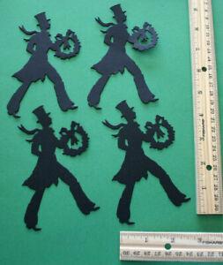 5 DEER paper die cut embellishment *FreeShipPromo* scrapbook card making