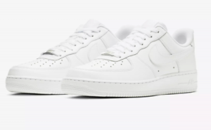 Details about New Mens Sz 8 14 Nike Air Force One 1 Low Top Triple White 315122 111
