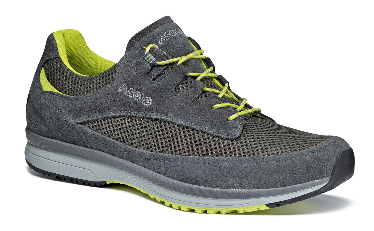 shoes lifestyle ASOLO  EQUINOX grey yellow  first time reply