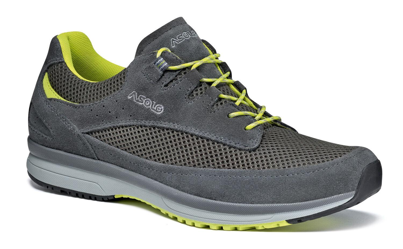 shoes lifestyle ASOLO EQUINOX grey yellow