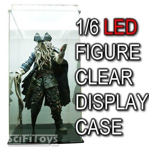 Licht klare schaukasten kasten 1   6 - actionfigur hottoys enterbay...