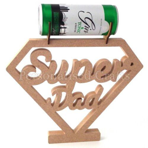 Super papa chocolat//bière//Perfect Mélangeur Tin Support pour fête des pères