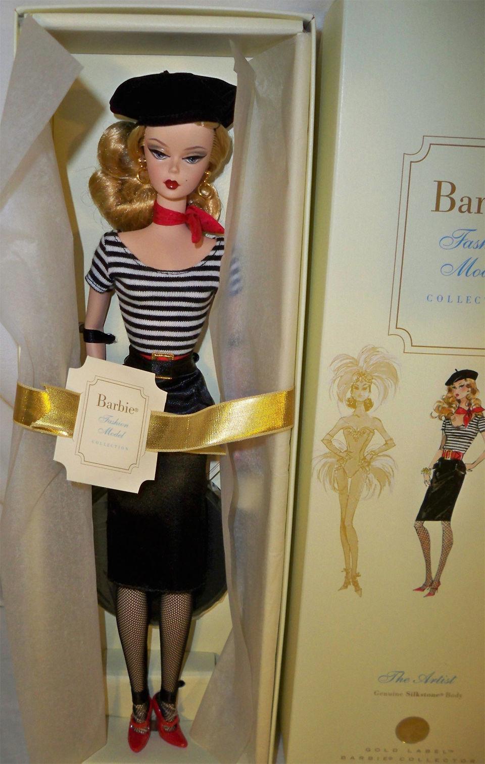 El artista Modelo De Moda De Barbie Silkstone desde 2008 Menta en Caja oro Label Ltd Ed 7000