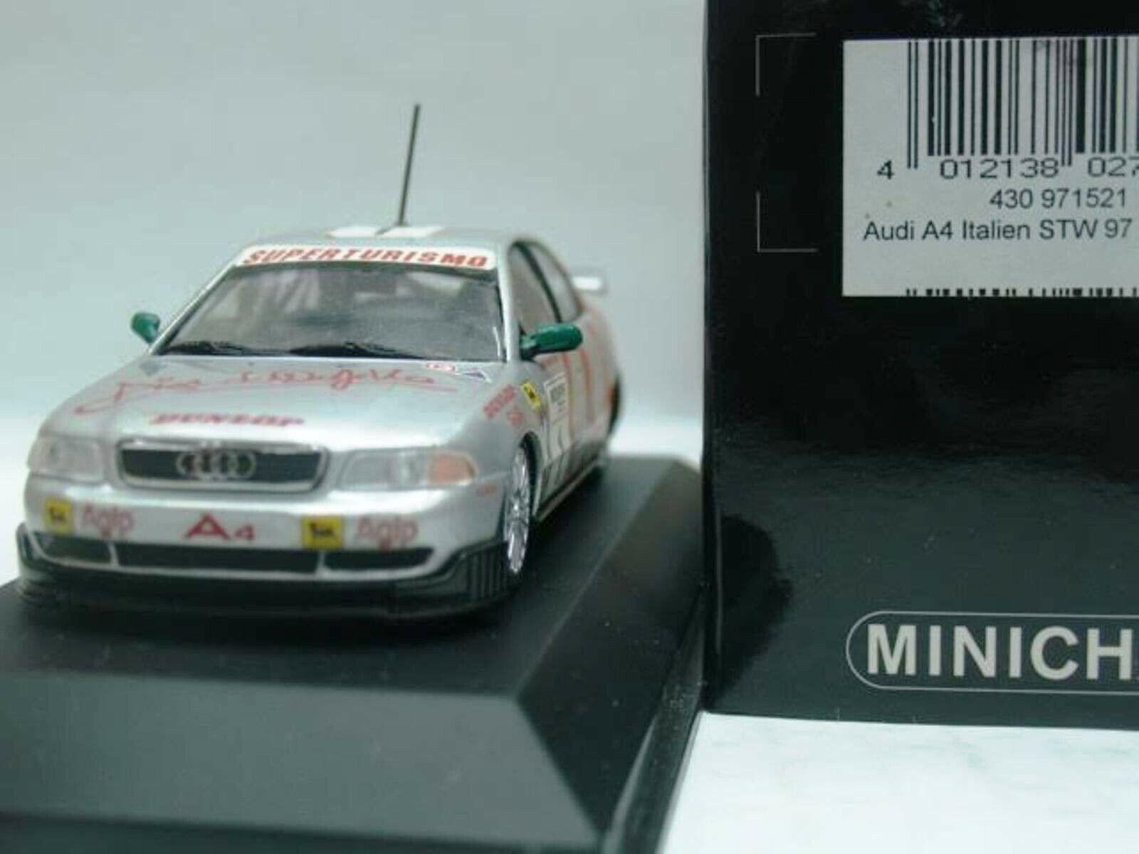 WOW EXTREMELY RARE Audi A4 Quattro 1997 Capello Winner Varano Varano Varano 1 43 Minichamps 958811