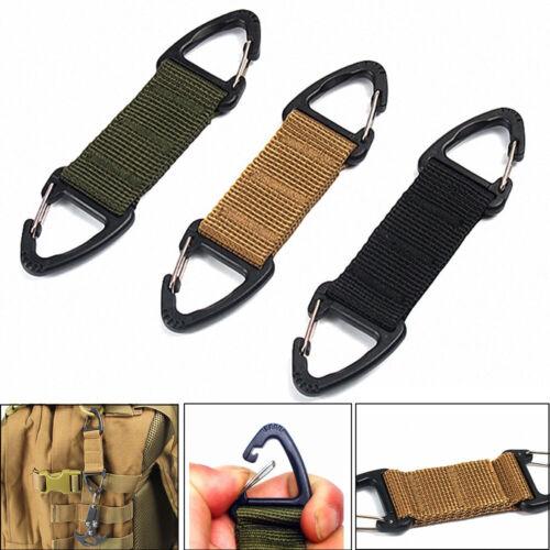 Clasp Hanging Chain Climbing Carabiner Webbing Belt Clip Outdoor Molle Buckle