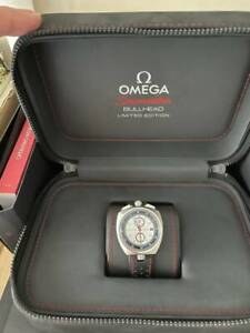 Omega seamaster Bullhead o-axial Chronograph Watch