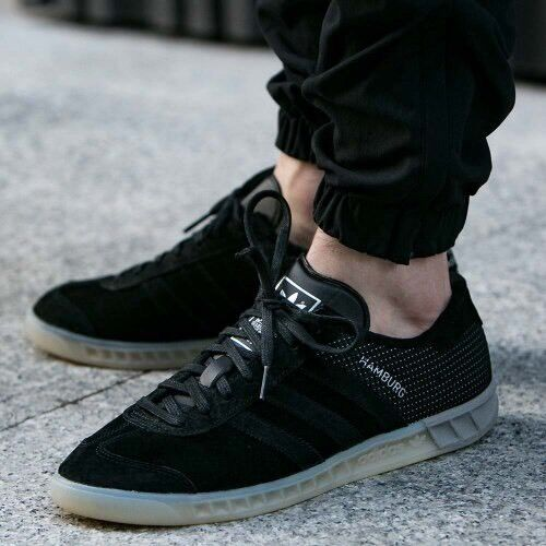 Adidas amburgo + + + + + + rari / velluto nero / rari halfshoe 11,5 nuovi spezial samba trimm 07a2f0