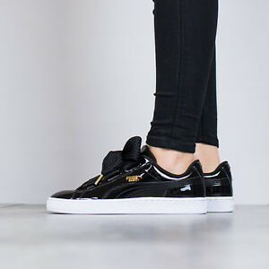 puma basket heart - women's